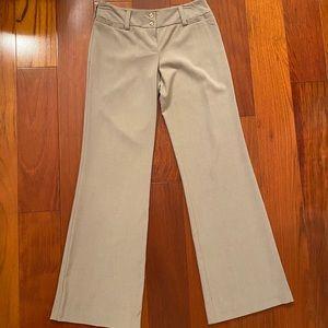 Tan Boot Cut Dress Pants Juniors size 5
